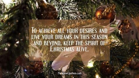 achieve   desires    dreams   season     spirit