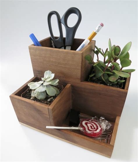 Desk Planter diy planter amp pen cup the well appointed desk