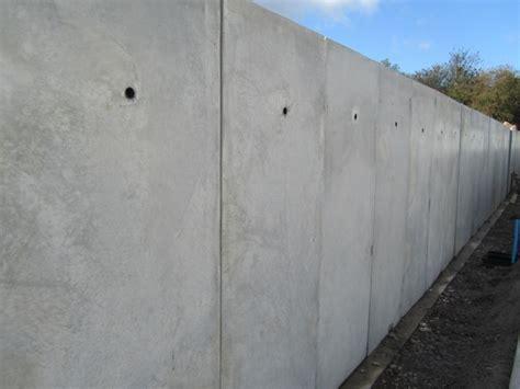 beton innenwand precast concrete flood defence walls jp concrete