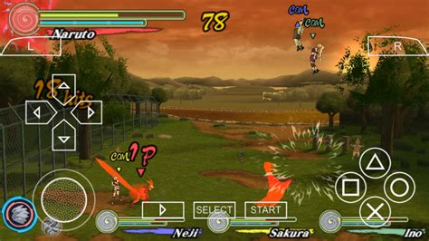 game psp naruto format iso naruto ultimate ninja heroes 3 psp iso free download
