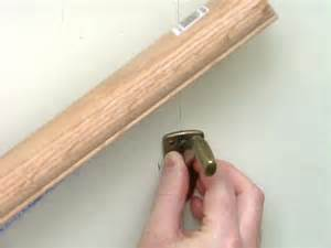 how to install a stairway handrail how tos diy