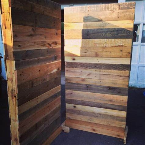 Funky Coat Hooks patetioning made so easy of pallet room divider 101 pallets