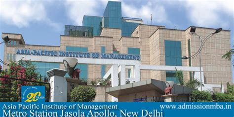 Of The Pacific Mba Ranking by Apim Delhi Asia Pacific Institute Of Management Apim Pgdm