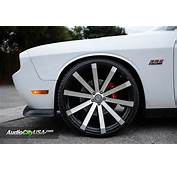 22 Velocity Wheels VW12 Black Machined Rims VC017 3
