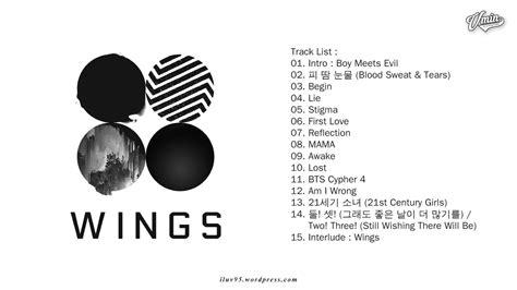 Bts Vol 1 album bts wings vol 2