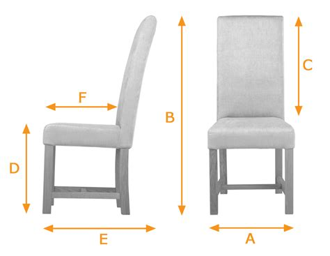 Standard Dining Chair Size Standard Size Of Dining Chair Large Contemporary Solid Oak Dining Chair Oak Finish Kensington