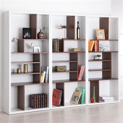17 best ideas about modern bookcase on mid