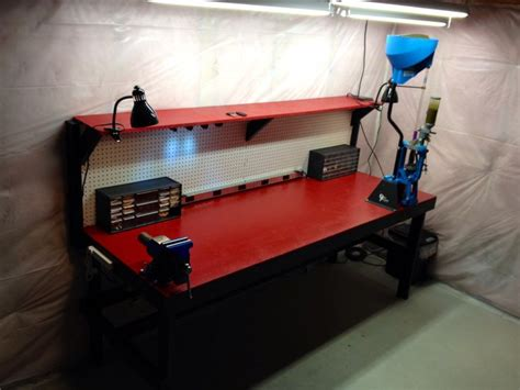 gun reloading bench reloading gun smithing bench reload pinterest