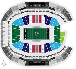 Mercedes Stadium Seating Chart Mercerdes Stadium Seating Chart New Falcons Stadium