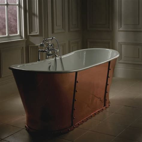 bathtub com baglioni cobra freestanding copper bath lem 233 rand