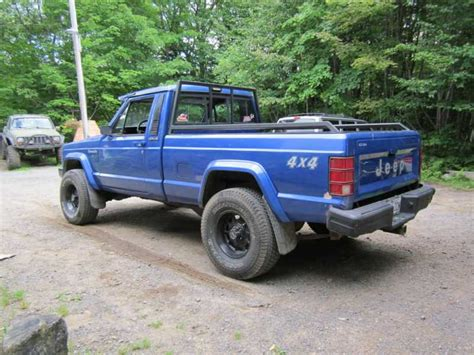 jeep comanche blue blue comanche 88 4 0l ax 15 now black member projects