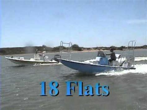18 foot fishing boat 18 foot shoalwater flats fishing boat youtube