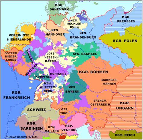 deutsche mappe deutschland 1789