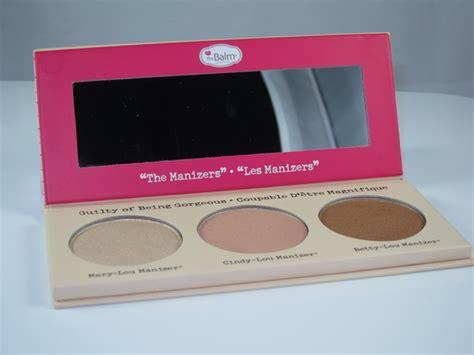 The Balm Lou Manizer Luminizer 85g the balm the manizer luminizer collection palette