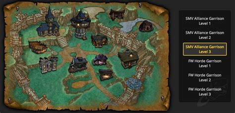 Guide To Garrisons In Warlords Of Draenor Building Upgrade Plans Wow