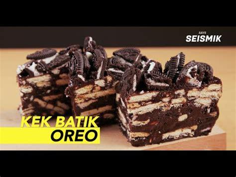 youtube membuat kek batik cheesekut icookasia doovi