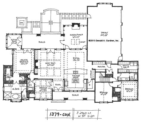Home Plan 1379 Now Available Houseplansblog Ranch House Plans With Rear Exposure