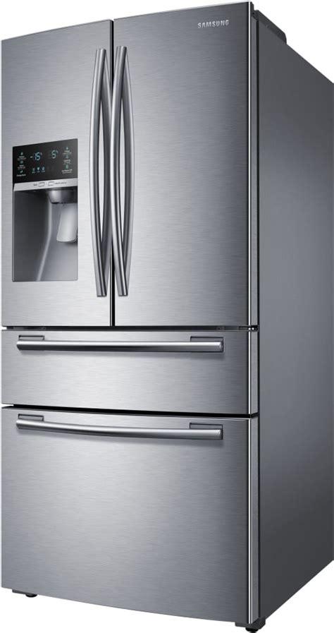 samsung fridge rf25hmedbsr samsung stainless steel 33 inch door refrigerator