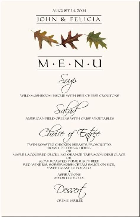 menu layout for wedding wedding menu design layout yes menu design pinterest
