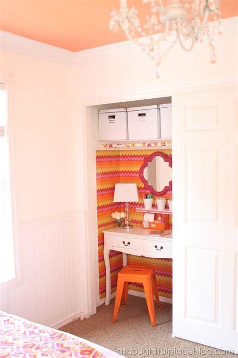 half closet half desk 1000 ideas about closet desk on closet
