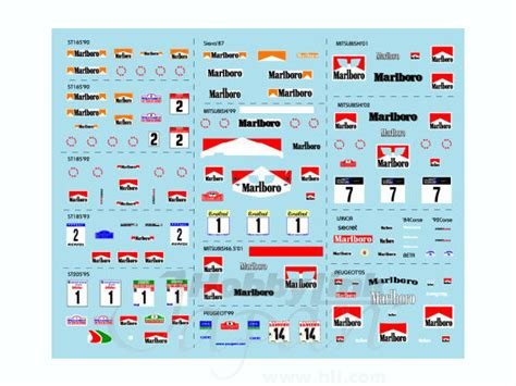 Rallye Sponsoren Aufkleber by 1 64 Rally Car Collection Sponsorship Decal By Museum