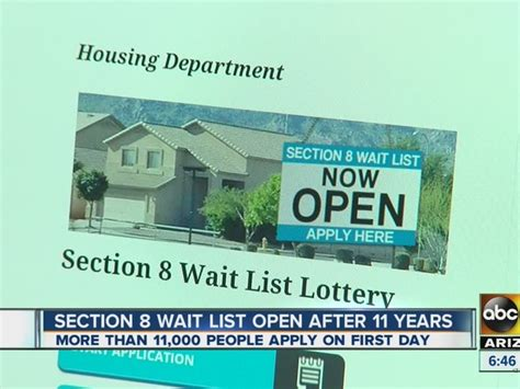 section 8 waitlist open for first time in 11 years department of housing is