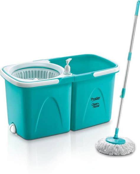 prestige clean home psb 10 magic mop blue amazon in home prestige clean home 6 5 l mop set price in india buy
