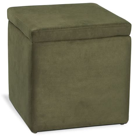 Storage Ottoman With Tray Detour Storage Ottoman With Tray Olive Furniture