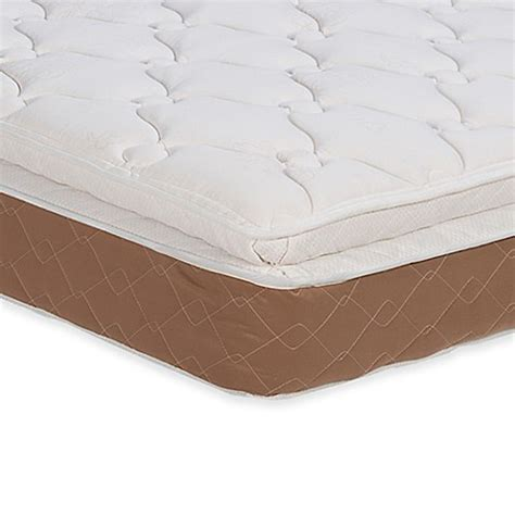 twin bed pillow top buy wolf sapphire pillow top twin mattress from bed bath