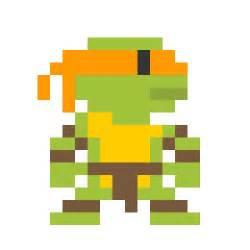 pixel art inspired by pop culture characters gadgetsin