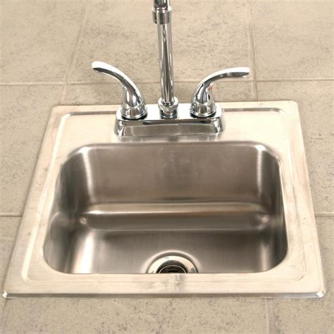 15 x 15 sink 15 x 15 sink with faucet stainless steel bbq guys