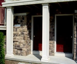 hb amp g permacast fiberglass porch columns round amp square
