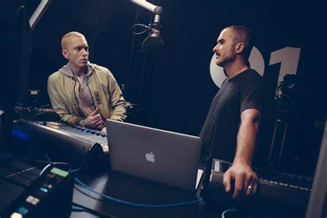 eminem zane lowe in beats 1 radio debut eminem discusses involvement in