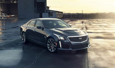 cadillac its 2016 cadillac cts v does a burnout in its driving