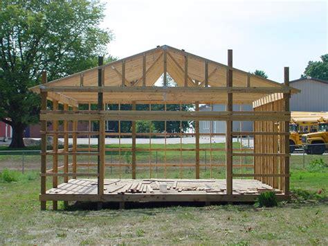 pole shed plans