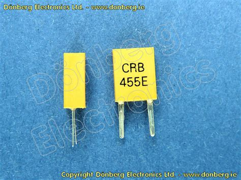 capacitor ztb455e tv monitor spare 455khz cryst remote 455khz