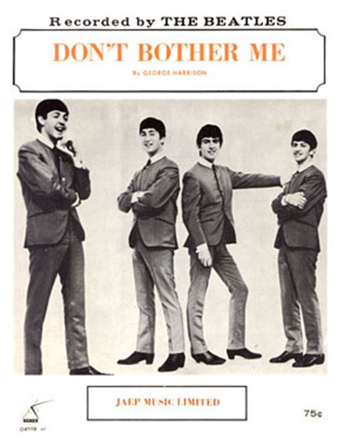 beatles don t bother me wmv lennon mccartney songs sung by george ringo any recordings