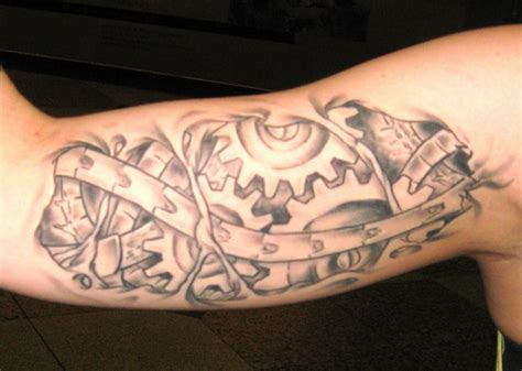biomechanical tattoos designs ideas and meaning tattoos