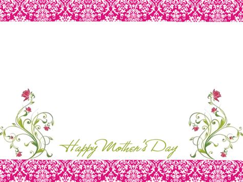 free christian mothers day card template for ms word 6 free s day borders for cards scrapbooks and
