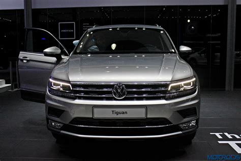 volkswagen news india auto expo 2016 is the all new tiguan the of the