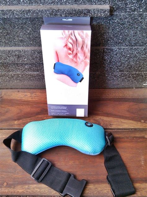 Vibrating Wrap Power Massager Alat Pijat Getar Badan Punggung 1 bodywrap alat pijat untuk menghilangkan sakit pinggang