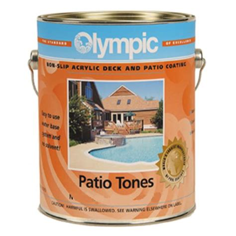 gallon  gal patio tone sand valley deck coating