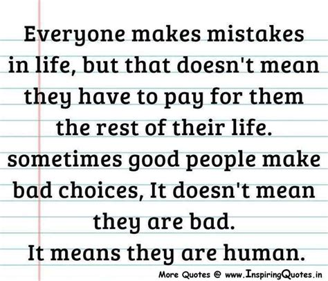 mistakes quotes quotes about regrets and mistakes quotesgram