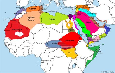 arb maps arabic dialects2 maps posts and maps