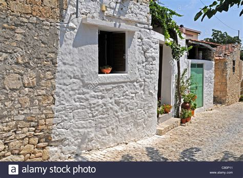 white stone house white stone house in vasa a traditional small cypriot