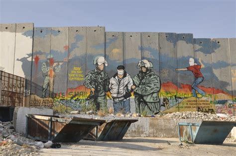 Painting A Wall Mural palestine street art west bank wall palestine www