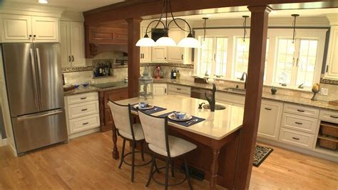 kitchen columns ionic columns for a transitional kitchen with a kitchen