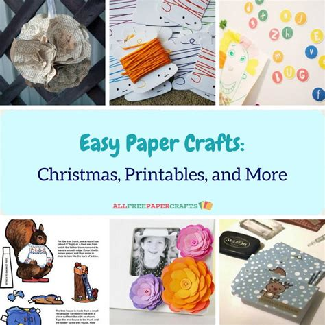 all free paper crafts 25 easy paper crafts printables and more
