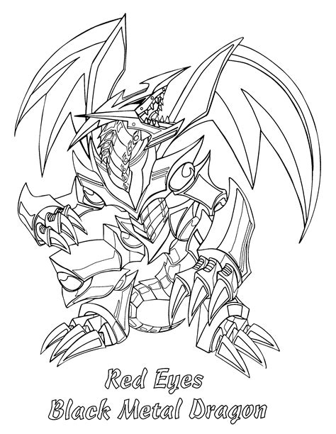 coloring page yu gi oh coloring pages 56