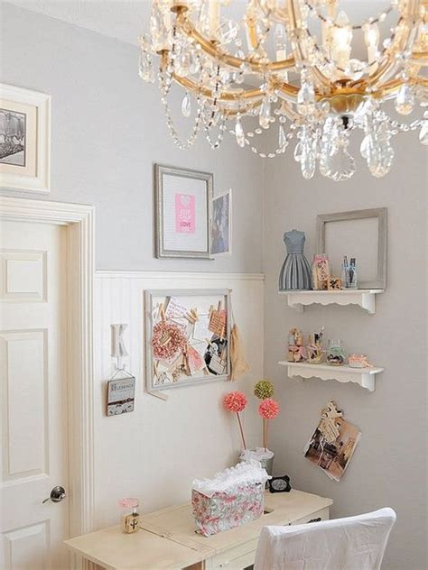 chic office decor feminine shabby chic nook ideas for your home